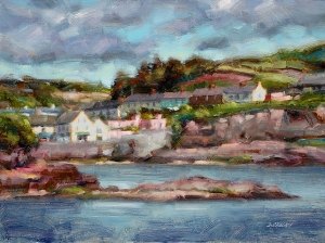 A View of Dunmore East, Ireland